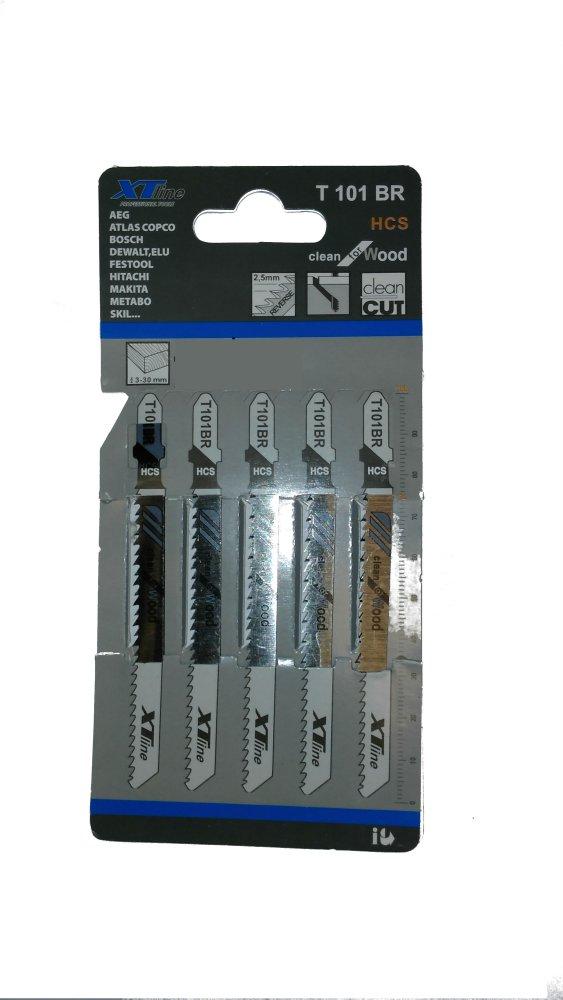 XTline pilový plátek na dřevo a lamino desky s otočeným zubem