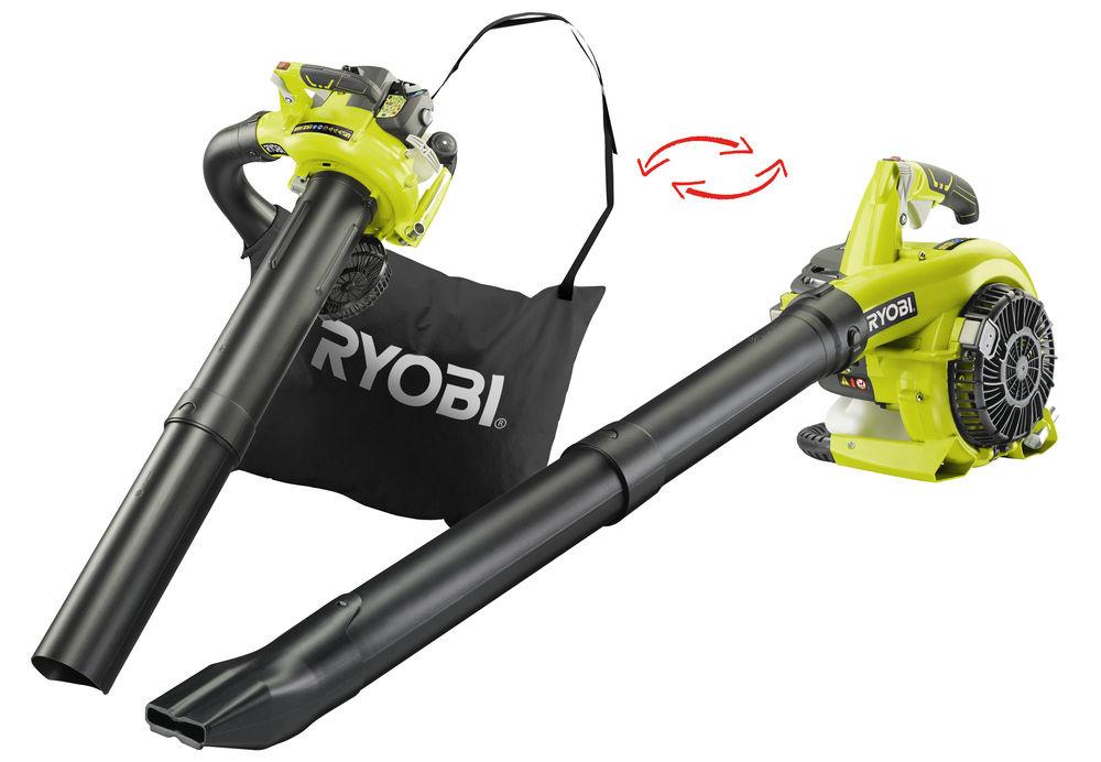 RYOBI RBV26B benzínový vysavač / foukač listí
