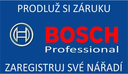 Prodloužená záruka Bosch