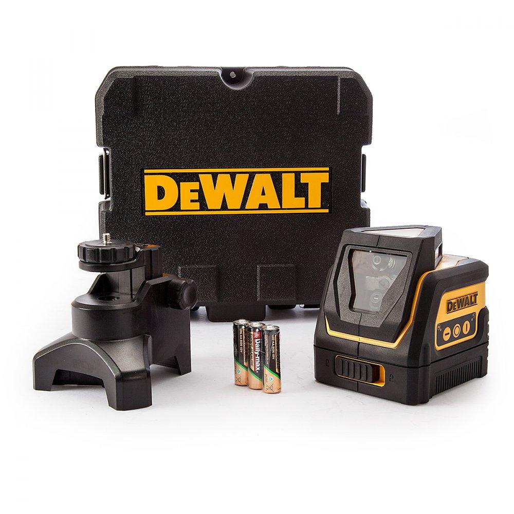 DeWALT DW0811 čárový a křížový laser 360°