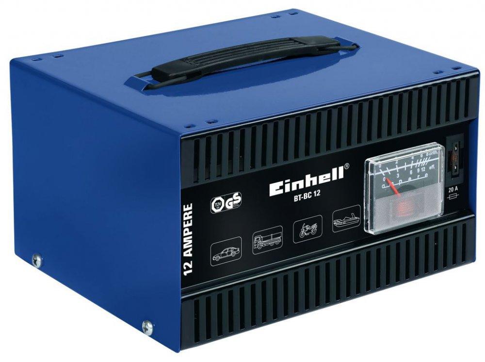 EINHELL BT-BC 12 nabíječka autobaterií
