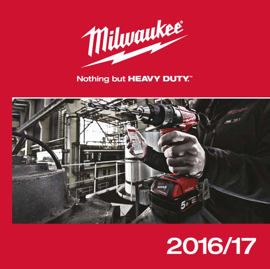 Katalog Milwaukee 2016/17