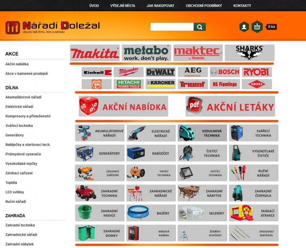 starý e-shop naradi-dolezal.cz
