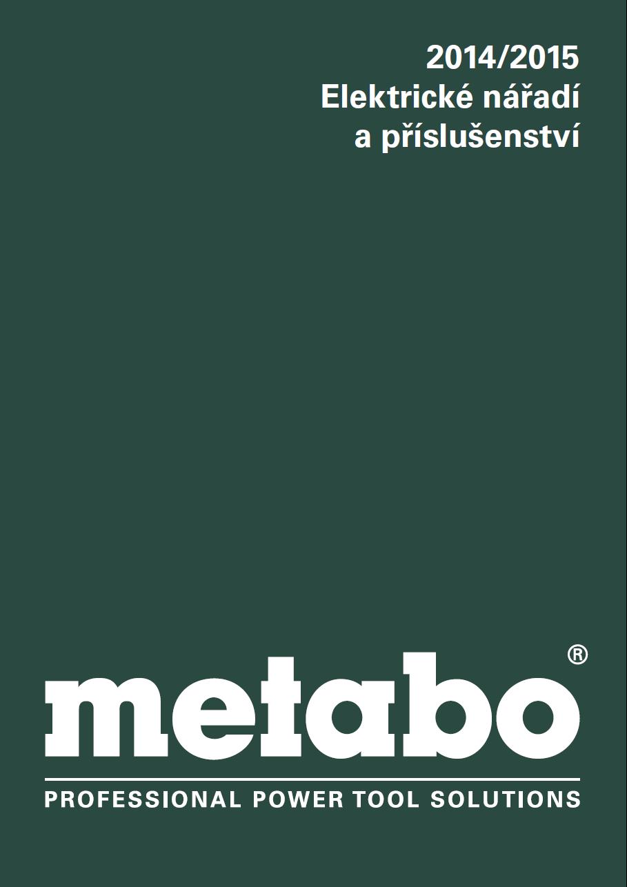 Katalog Metabo