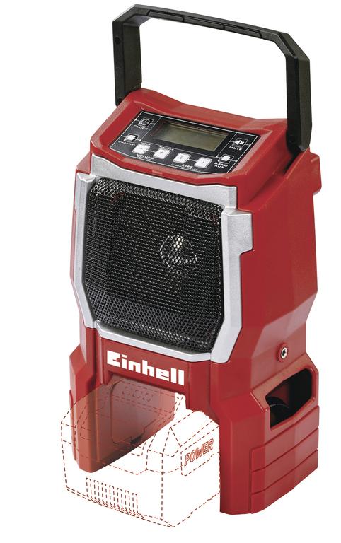 EINHELL TE-CR 18 Li aku rádio